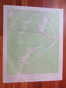 Ruidoso New Mexico 1982 Original Vintage Usgs Topo Map