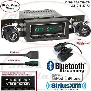 Retrosound Long Beach Cb Radio Bluetooth Usb 3 5mm Aux In 216 37 Gmc K Series