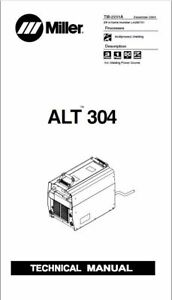 Miller Alt304 Technical Manual Eff With La285751