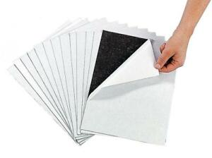 Awesome Adhesive Magnetic Sheets 12 Pack Peel Stick Flexible 8 1 2 X 11