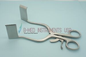 Or Grade Meyerding Laminect Retractor 25 X 60mm Tooth Blade Surgical Instruments