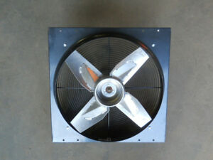 Dayton Heavy Duty Direct Drive Exhaust Fan 24 X 24 115vacv model 4c127f