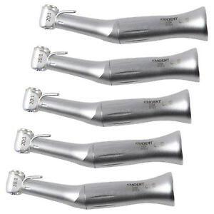 5x Dental Surgical Implant Reduction 20 1 Low Speed Contra Angle Handpiece Push