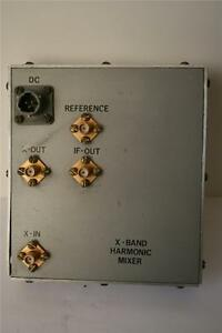 X band Harmonic Mixer