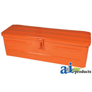 5a3or Tool Box Orange Fits Allis chalmers All Kubota All Tractors