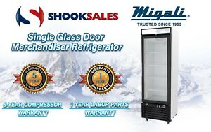 Migali C 10rm Single Glass Door Merchandiser Refrigerator To Commercial Address