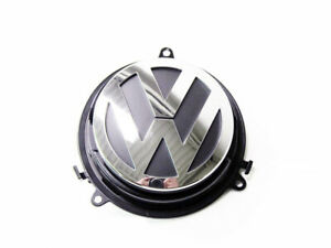 Vw Volkswagen Rear Trunk Emblem With Operating Mechanism Genuine Oem New