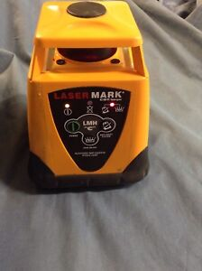 Cst berger Lmh Lasermark Automatic Self leveling Rotary Laser W Detector