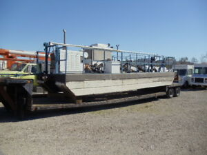 1990 Vmi Md 415 Horizontal Cutter Dredge Dredger Barge