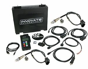 Innovate 3807 Dual Wide Band O2 Oxygen Sensor Tuning Kit Lm 2 Duo Lm2 Lsu4 9 Obd