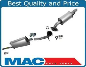 New Exhaust System Pipe Muffler For 2004 2007 Toyota Highlander