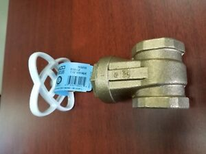 Lot Of Two Nibco T 113lf Gate Valve Lead Free 1 In Fip