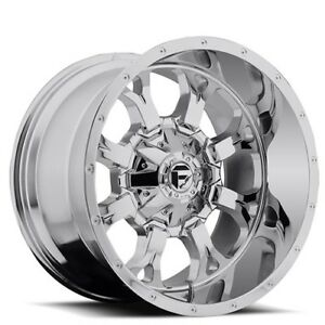 1set4ea Off Road 18 Fuel Wheels D516 Krank Chrome Rims