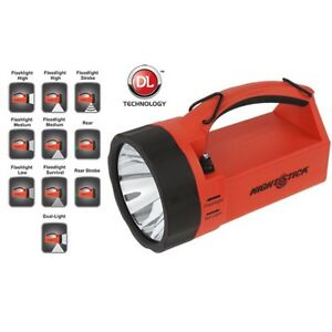 Nightstick Xpr 5580r Intrinsically Safe Dual light Lantern Rechargeable Red blac
