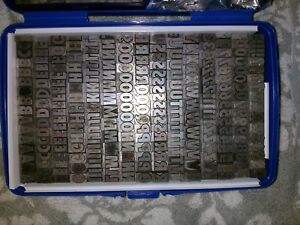 20th Century Cond Ultra Bold 36pt Letterpress Metal Type fonted