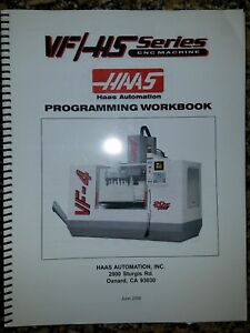 Haas Automation Vf hs Series Programming Workbook Manual Vf 4
