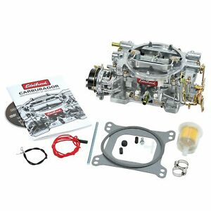Brand New Edelbrock 1406 Performer 600cfm Carb Electric Choke 4bbl Carburetor