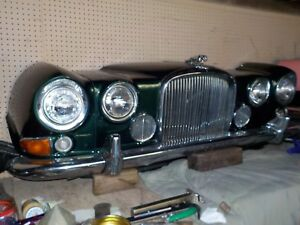 1969 Jaguar Wall Hanger Car Art Mancave Stunner