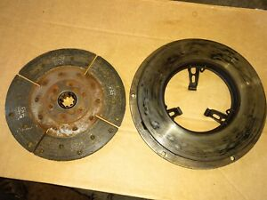 Allis Chalmers Wd Wd45 Tractor 10 Clutch Pressure Plate Parts Good Shape Ac