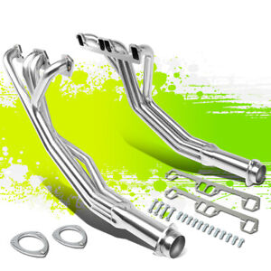2pcs Exhaust Manifold Header For 68 74 Dodge D100 d200 m300 5 2l 5 9l V8 Engine