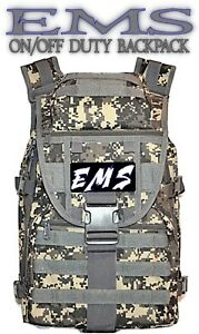 Camo Ems First Responder Backpack Duty Bag First Aid Kit Pack Free Shipping