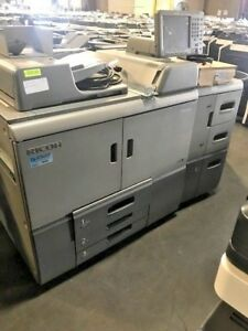 Ricoh Pro 8100s Printer Copier Low Meter