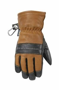 Men s Leather Winter Gloves Water resistant Hydrahyde 100 Gram Thinsulate