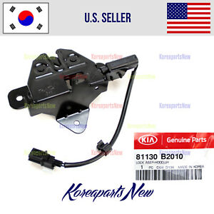 Hood Lock Latch genuine 81130b2010 Kia Soul 2015 2018