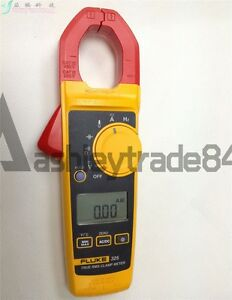 Fluke 325 True rms Clamp Meter 40 00 A 400 0 A With Soft Carrying Case New