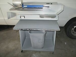 Envelope Openers Machine Envelopeners Mail Open Omation Opex 106 Used