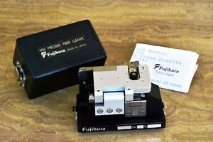 Fiber Optic Cleaver Fujikura Ct 04b High Precision Fiber Cleaver