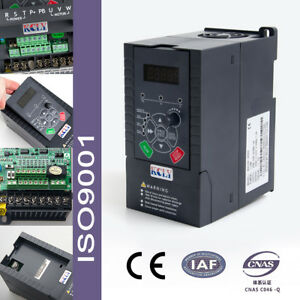 Kcly 1 5kw 2hp 7a 220vac Single Phase Variable Speed Drive Vsd Ac Drive Inverter