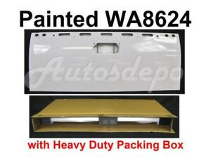 Painted Wa8624 Summit White Rear Tailgate For Chevy Silverado 2007 2013