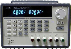 Array 3631a Triple Output Dc Programmable Power Supply