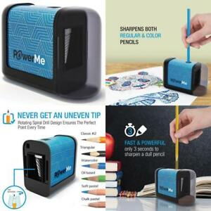 Battery Operated Cordless Electric Ultra Portable Coloringpens Pencil Sharpener