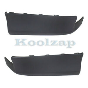 For 11 13 Corolla Rear Lower Valance Air Dam Deflector Apron Left Right Set Pair