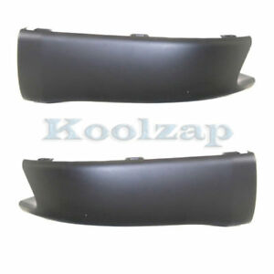 For 03 08 Matrix Rear Lower Valance Air Dam Deflector Apron Left Right Set Pair