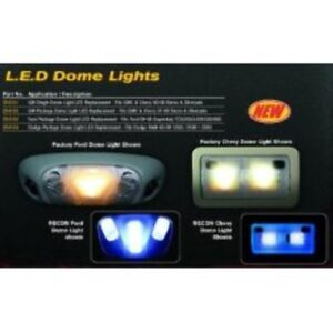 Gm Dome Light Set Led Replacement Fits Gmc Chevy 07 14 Sierra Silverado