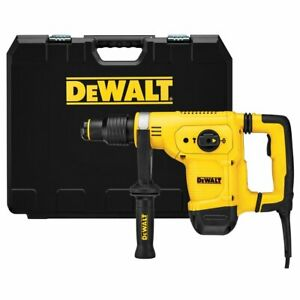 Dewalt D25810k 10 5 amp 12 Lbs Sds Max Corded Chipping Hammer Kit W Shocks