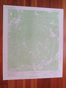 Mccall Creek Mississippi 1974 Original Vintage Usgs Topo Map