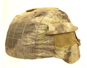 NEW ACM ATACS AU DESERT RIP-STOP COTTON HELMET COVER FOR MICH 2000CAMOUFLAGE