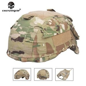 Emerson Helmet Cover for MICH TC-2001 ACH Helmet Tactical Airsoft Hunting Camo