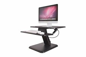 Zeal Height Adjustable Sit To Stand Riser Converter Laptop Table Computer Desk