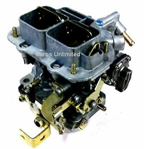 Weber 32 36 Dgv Carb 1 Yr Warr Made In Spain Manual Choke