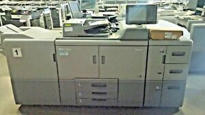 Ricoh Pro 8110s Printer Copier With Paper Deck And Finisher
