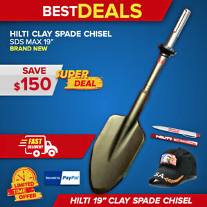 Hilti Clay Spade Chisel Sds Max 19 X 4 1 2 Brand New Free Extrad Fast Ship