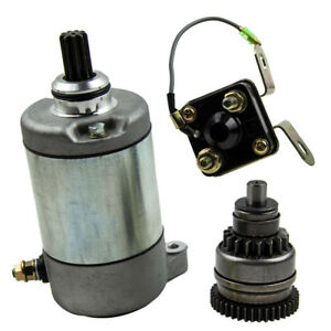 Starter Drive & Relay Solenoid for POLARIS ATV SPORTSMAN 500 1996-2002 NEW