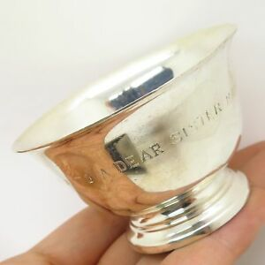 Vintage Tiffany Co 925 Sterling Silver Revere Style Collectible Bowl