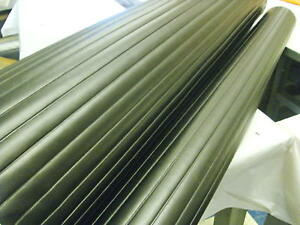 Vinyl Pleats 1 Black Automotive Marine Upholstery Heat Sealed