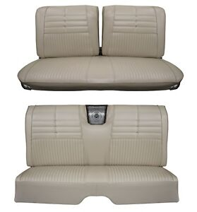 1964 Impala Coupe Front Rear Bench Seat Upholstery In Your Choice Of Color